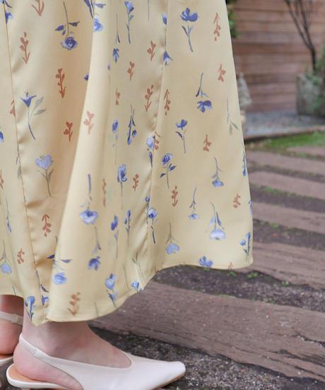 retro flower skirt