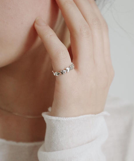 pinky  heart ring