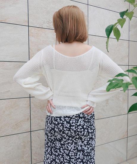 twist summer knit