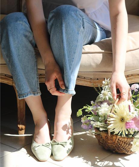 low heel ballet