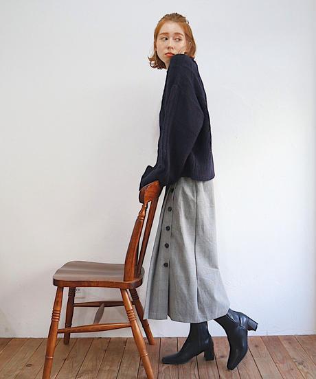 Josée check skirt