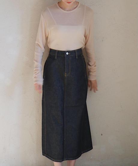 rene denim skirt