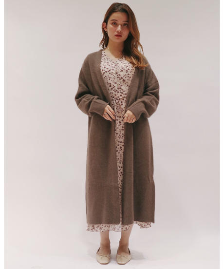 fox long cardigan