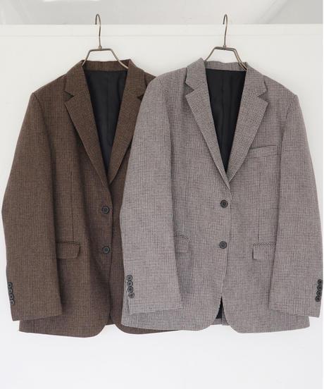 handsome check jacket