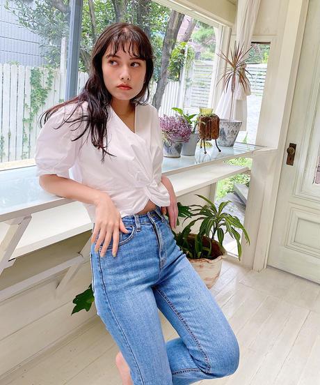 cotton twist blouse