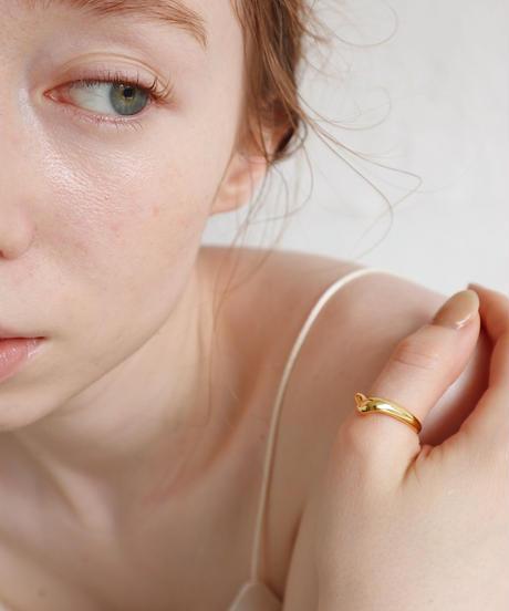 silver modern ring