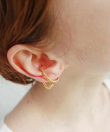 ear cuff -twist-