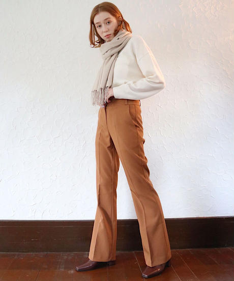 flare line pants