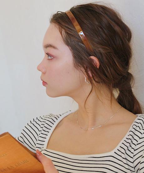 shell hair band