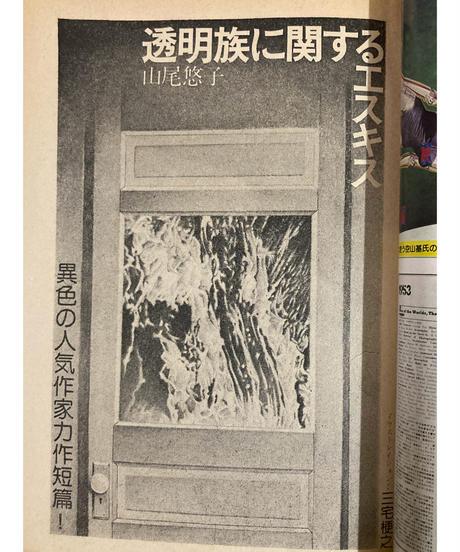 奇想天外1980年10月号■山尾悠子「透明族に関するエスキス」■山野浩一「内宇宙の銀河」他