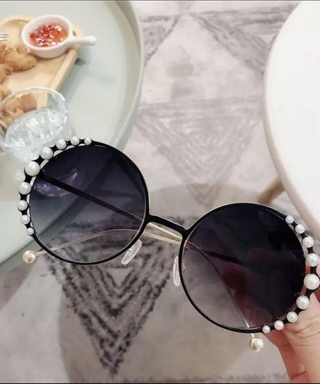 パールデザインサングラス