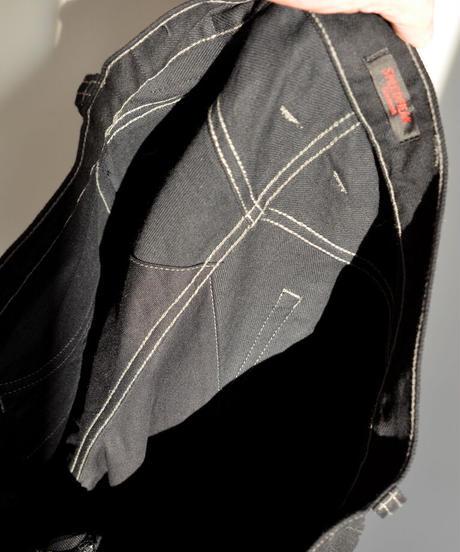 SCRAMBLE  Pants  Straight / Black