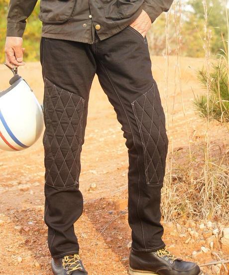 SCRAMBLE  Pants  SLIM / Black