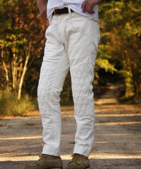 SCRAMBLE  Pants  SLIM / White