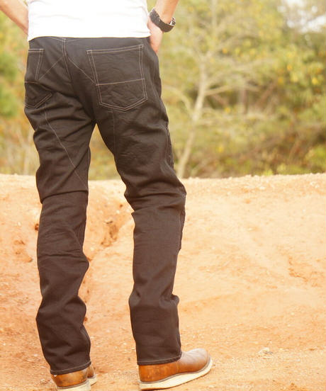 SCRAMBLE  Pants  Straight / Black