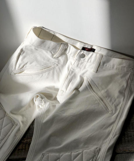 SCRAMBLE  Pants  Straight / White
