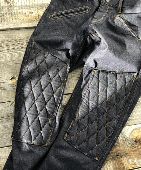 SCRAMBLE  Pants  Straight / Indigo