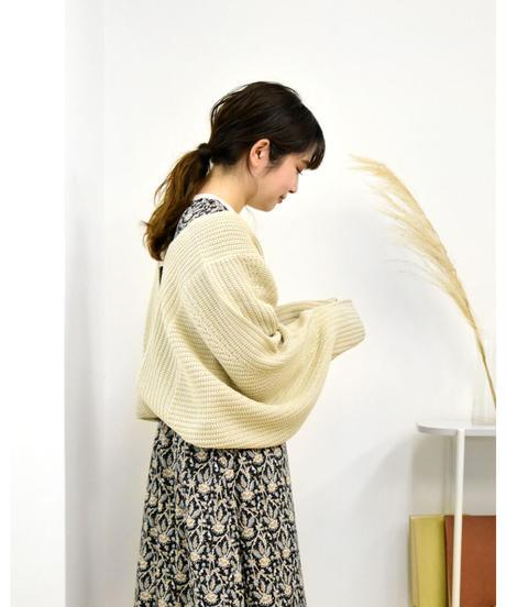 ラメニット ショート丈ボレロ [203KB004]