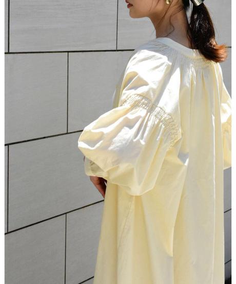 シャーリングシャツワンピース 【212FB002】