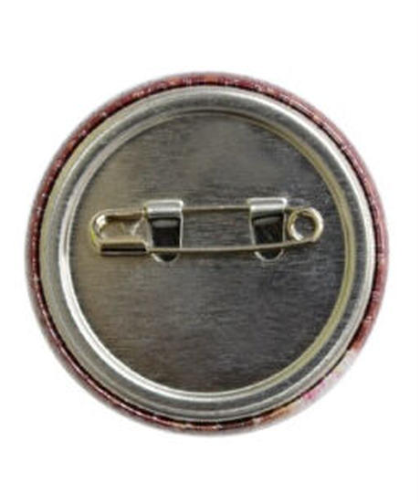 MUTSUYO Boar Tin Badge White