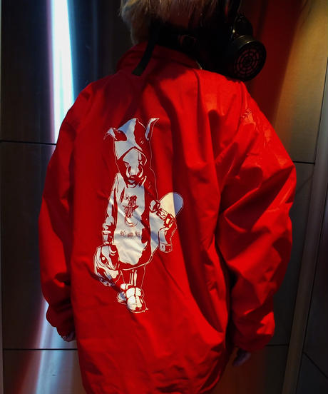 Coaches Jacket Red