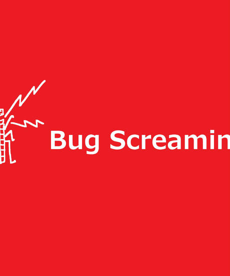 Bug Screaming T Shirt Red