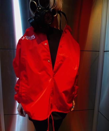 MUTSUYO Coaches Jacket Red