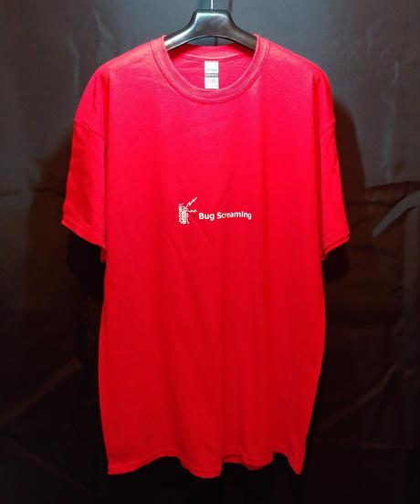 【Bug Screaming】 T Shirt Red
