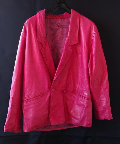 Leather Pink Jacket (Used)