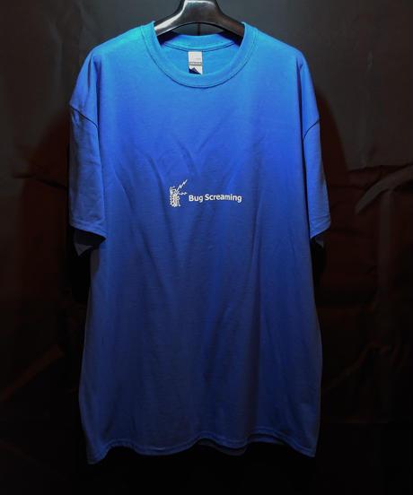 【Bug Screaming】 T Shirt Blue