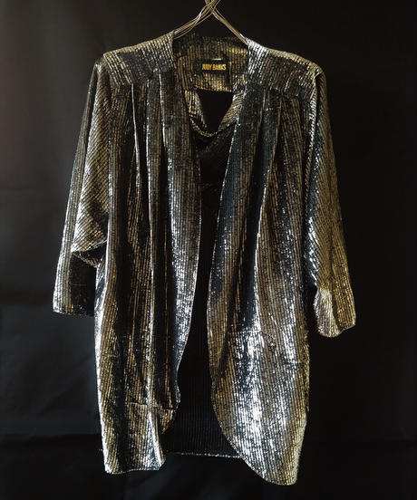 Silver Shiny Jacket  (Used)