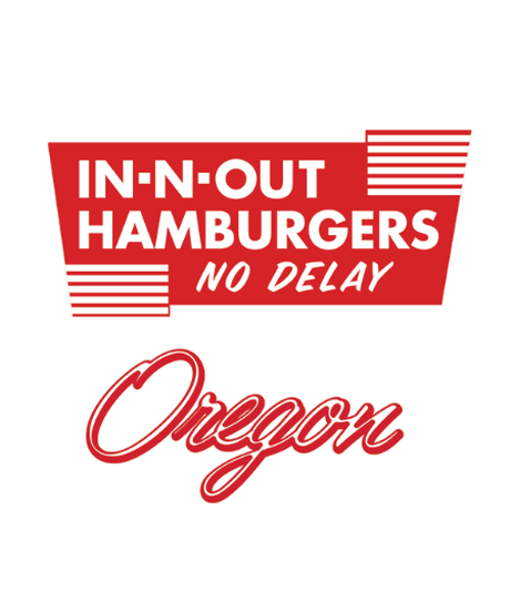 IN-N-OUT 2015 オレゴンモデル Tシャツ