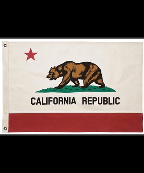 100%コットン カリフォルニア州旗 ヴィンテージスタイル