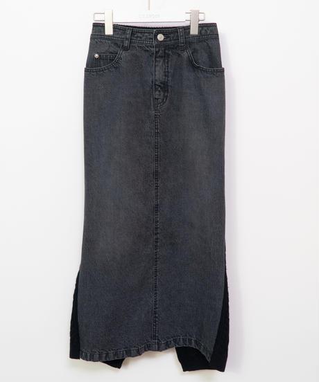 17250366 _ デニム*ニットスカート