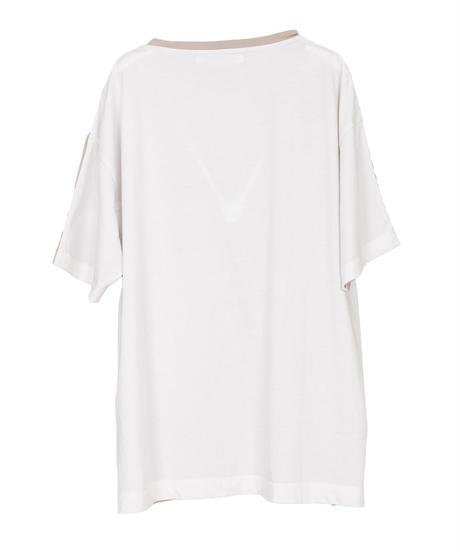バイカラーTシャツ(3色展開)_13411130