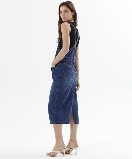 デニムサロペットスカート(2色展開)_13151114