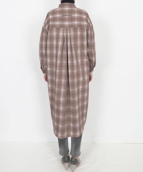 チェックロングシャツ(3色展開)_16241237