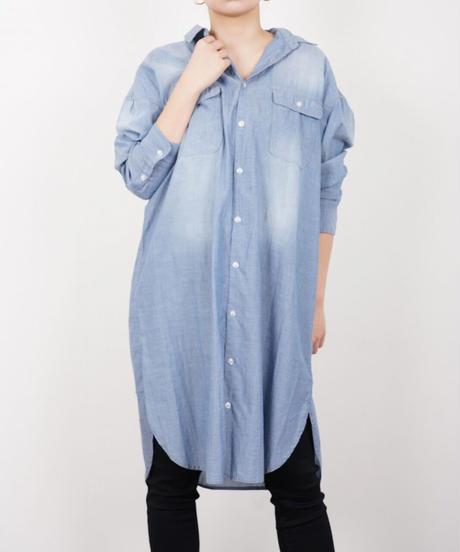 エアリーデニムロングシャツ(2色展開)_12140024