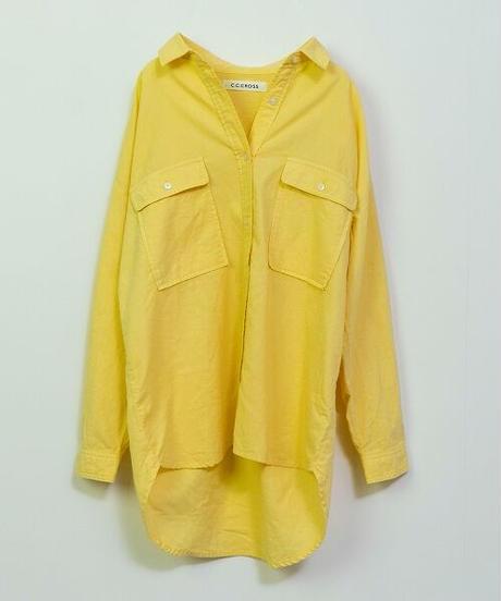 空紡糸オックスカラーシャツ(4色展開)_12241025