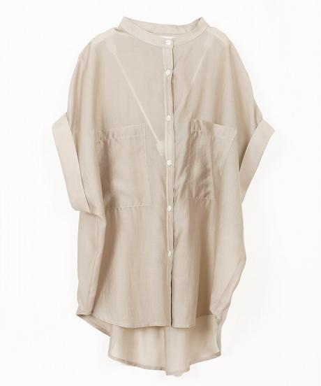 シアーカラーシャツ(4色展開)_13241100