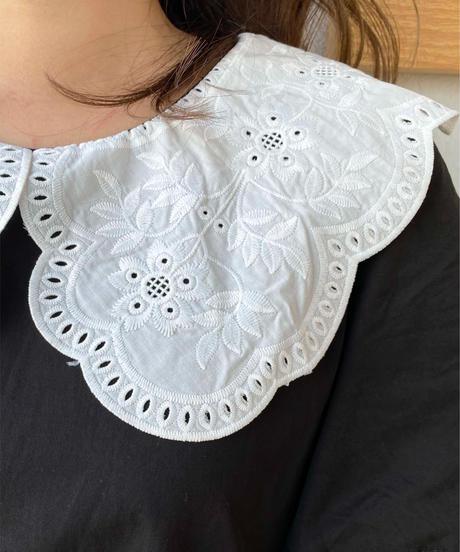emburoidari collar onepiece