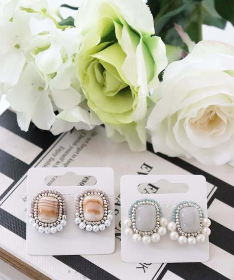 〈再入荷〉handmade bijou earring