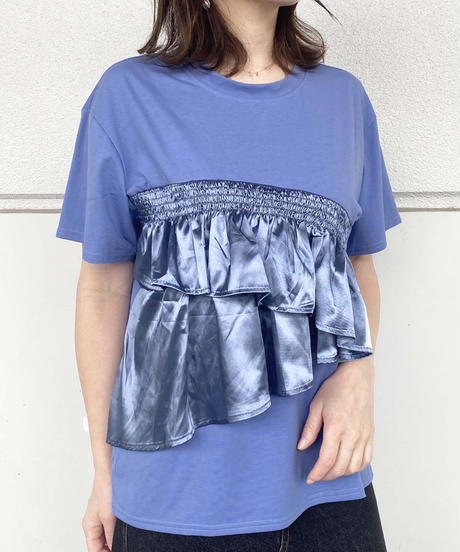 tiered frill T-shirt