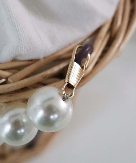pearl handle rattanbag