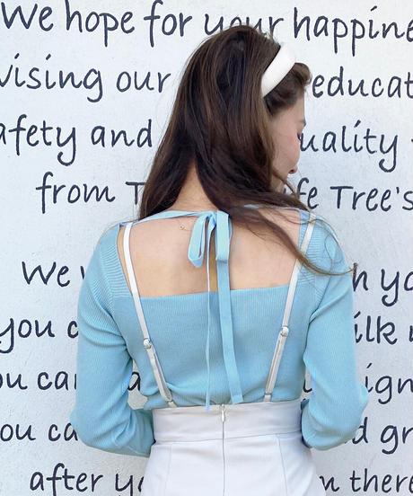 back ribbon tops
