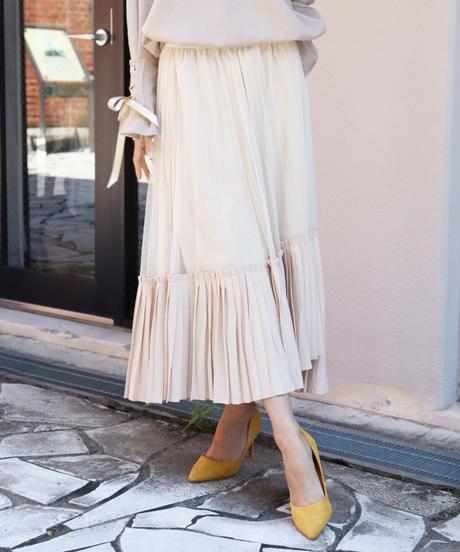 combination pleats skirt