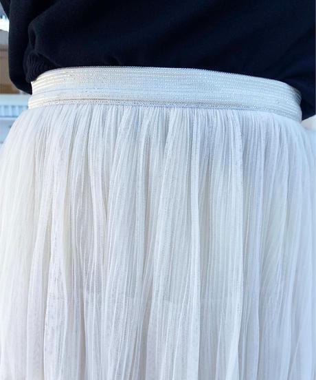 tulle tiered skirt