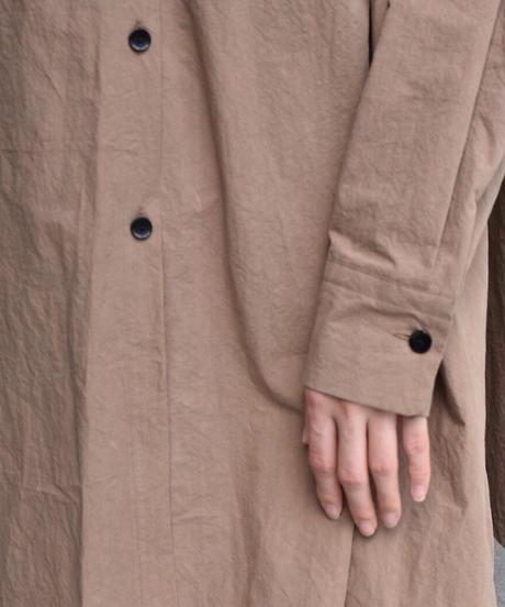【HiROMI THiSTLE】 Cotton typewriter Sailor collar Blouse