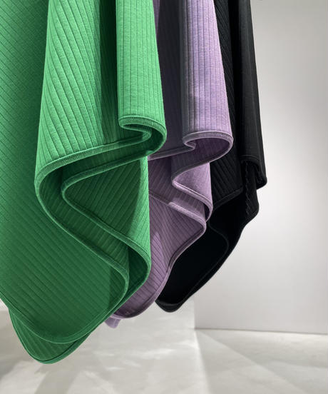 【HiROMI THiSTLE】 Cotton Asymmetry TOPS