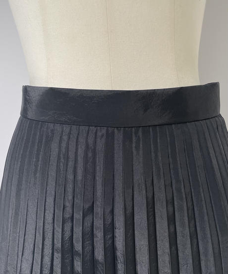 【Parc.1】ChambrayGloss Pleats Skirt